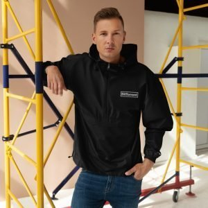 BTT – Embroidered Champion Packable Jacket