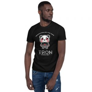 TRON Bear – Short-Sleeve Unisex T-Shirt
