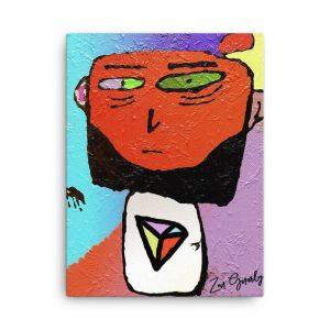 Zen Gnarly Original Canvas Print