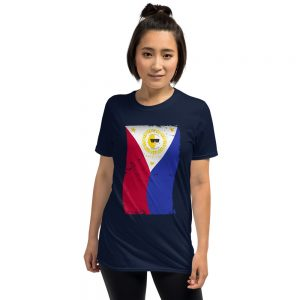 SUN Filipino Flag – Short-Sleeve Unisex T-Shirt