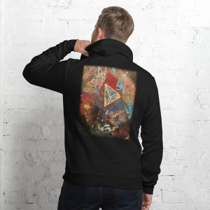 Vlagyimir Popp Limited Edition – Unisex hoodie (Art on back)