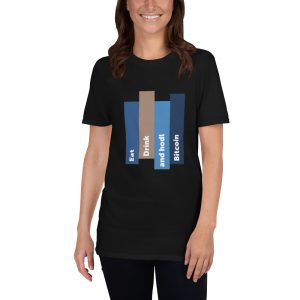 Hodl BTC – Short-Sleeve Unisex T-Shirt