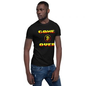 BTC Game Over – Short-Sleeve Unisex T-Shirt