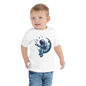 Astronaut – Toddler Short Sleeve Tee