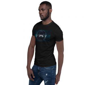 BTC Glitch – Short-Sleeve Unisex T-Shirt