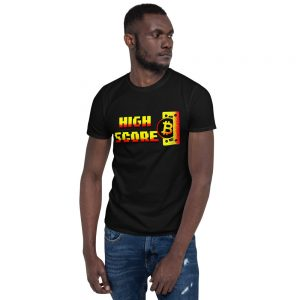 BTC High Score – Short-Sleeve Unisex T-Shirt