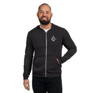 COTI – Unisex zip hoodie