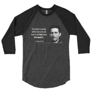 Orwell – 3/4 sleeve raglan shirt