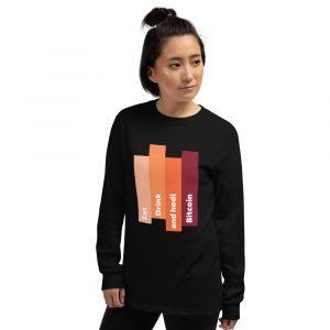 Bitcoin HODL – Long Sleeve Shirt