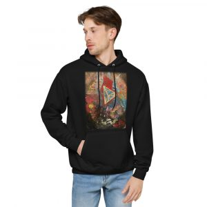 Vlagyimir Popp Limited (front only) Unisex fleece hoodie
