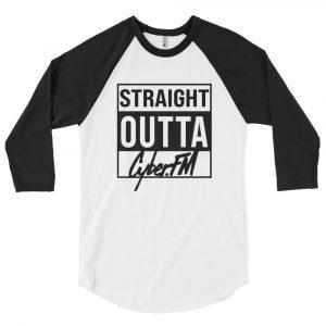 CyberFM – 3/4 sleeve raglan shirt