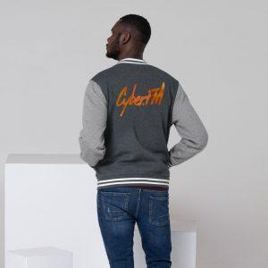 CyberFM – Men's Letterman Jacket