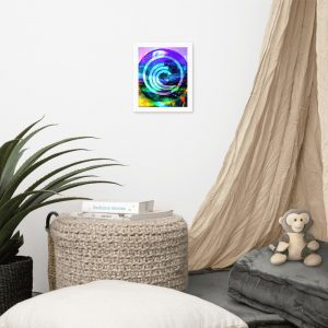 Bittorrent – Dizzy – Framed photo paper poster