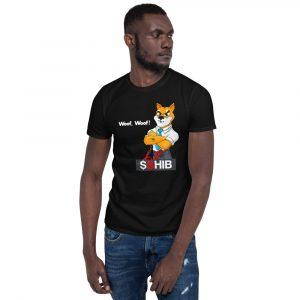 SHIB Hound Short-Sleeve Unisex T-Shirt