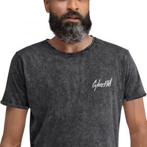 CyberFM – Denim T-Shirt