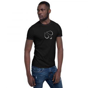 Gush Outline – Short-Sleeve Unisex T-Shirt