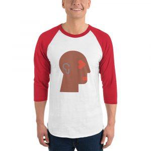 Geekhead 4544 – 3/4 sleeve raglan shirt