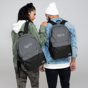 Kraftly – Embroidered Champion Backpack