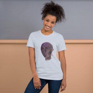 Tron Girl – Short-Sleeve Unisex T-Shirt